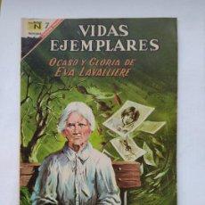 Tebeos: VIDAS EJEMPLARES Nº 252: OCASO Y GLORIA DE EVA LAVALLIERE. EDITORIAL NOVARO. TDKC78. Lote 219121390