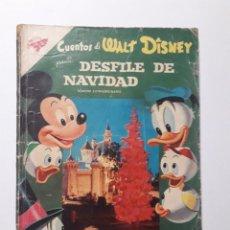 BDs: CUENTOS DE WALT DISNEY EXTRAORDINARIO DESFILE DE NAVIDAD AÑO 1958 - ORIGINAL EDITORIAL NOVARO. Lote 219133251