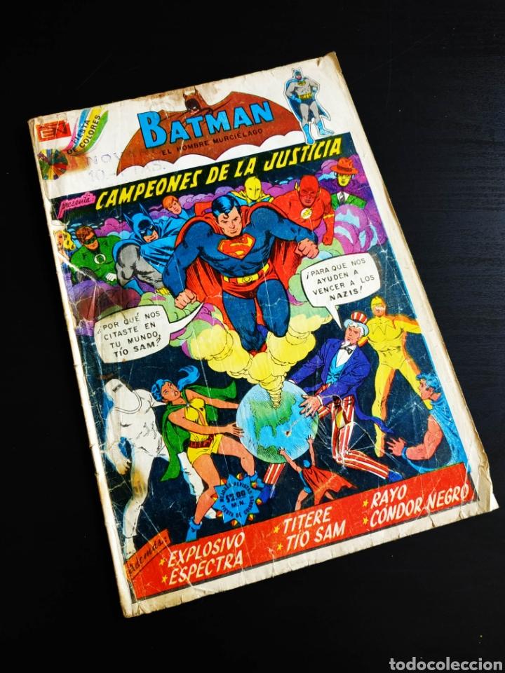 BATMAN 726 TIENE MUCHO USO NOVARO (Tebeos y Comics - Novaro - Batman)