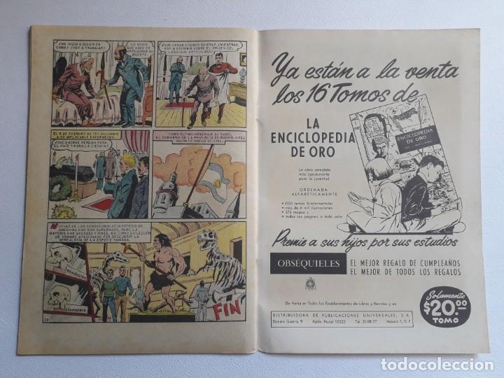 Tebeos: Vidas ilustres nº 81 - Florentino Ameghino el sabio del sur - original editorial Novaro - Foto 3 - 219388315