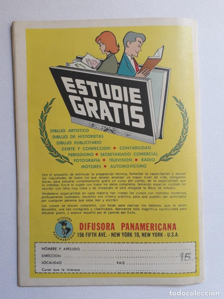 Tebeos: Vidas ilustres nº 81 - Florentino Ameghino el sabio del sur - original editorial Novaro - Foto 4 - 219388315