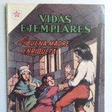 Tebeos: VIDAS EJEMPLARES Nº 156 - LA BUENA MADRE ENRIQUETA - ORIGINAL EDITORIAL NOVARO. Lote 219389552