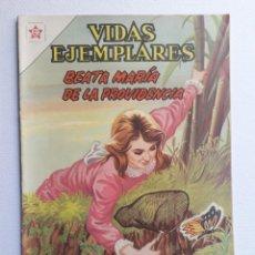 Tebeos: VIDAS EJEMPLARES Nº 140 - BEATA MARÍA DE LA PROVIDENCIA - ORIGINAL EDITORIAL NOVARO. Lote 219390106