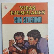 Tebeos: VIDAS EJEMPLARES Nº 112 - SAN SEVERINO - ORIGINAL EDITORIAL NOVARO. Lote 219390266