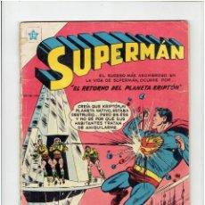 Livros de Banda Desenhada: * COMIC ORIGINAL SUPERMAN Nº 41 * EDITORIAL NOVARO 1954 *. Lote 219440168
