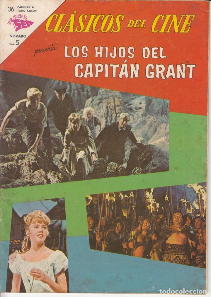 CLASICOS DE CINE: LOS HIJOS DEL CAPITAN GRANT - 1963 (Tebeos y Comics - Novaro - Aventura)