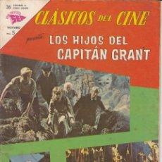 Tebeos: CLASICOS DE CINE: LOS HIJOS DEL CAPITAN GRANT - 1963. Lote 219462798