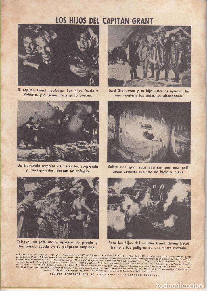 Tebeos: CLASICOS DE CINE: LOS HIJOS DEL CAPITAN GRANT - 1963 - Foto 2 - 219462798