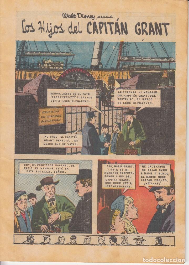 Tebeos: CLASICOS DE CINE: LOS HIJOS DEL CAPITAN GRANT - 1963 - Foto 3 - 219462798