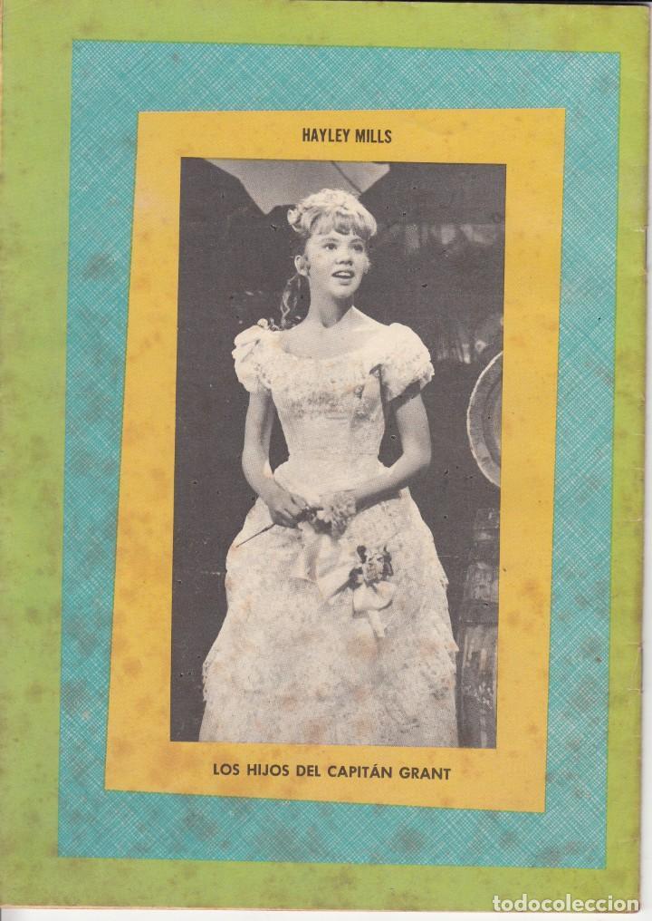 Tebeos: CLASICOS DE CINE: LOS HIJOS DEL CAPITAN GRANT - 1963 - Foto 4 - 219462798