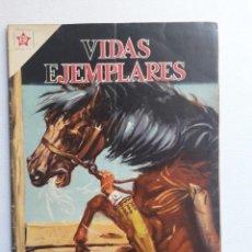 Tebeos: VIDAS EJEMPLARES Nº 95 - BEATO SEBASTIÁN DE APARICIO - ORIGINAL EDITORIAL NOVARO. Lote 219470940