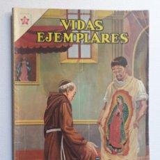 Tebeos: VIDAS EJEMPLARES Nº EXTRAORDINARIO - NUESTRA SEÑORA DE GUADALUPE - ORIGINAL EDITORIAL NOVARO. Lote 219473742