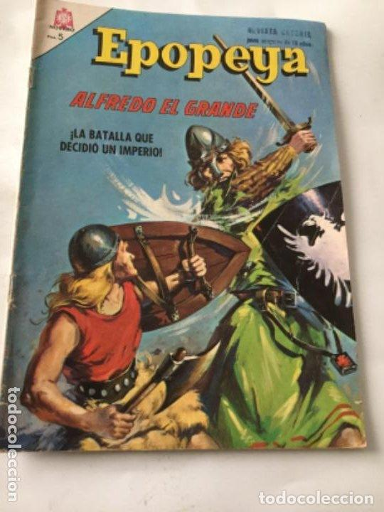 EPOPEYA- ALFREDO EL GRANDE- NUM.90- 1965 (Tebeos y Comics - Novaro - Epopeya)