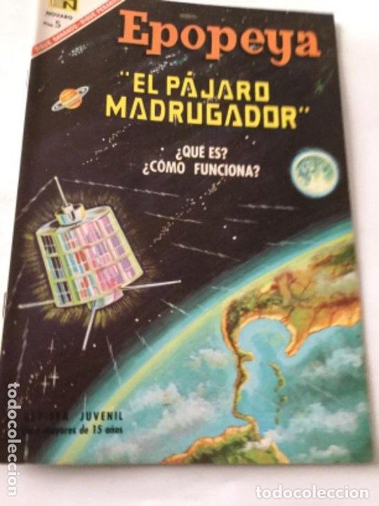 EPOPEYA- EL PAJARO MADRUGADOR- NUM.107- 1967 (Tebeos y Comics - Novaro - Epopeya)