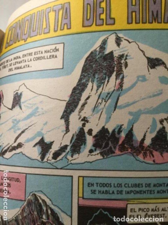 Tebeos: Grandes viajes-libro 64 páginas-la conquista del himalaya y al polo norte en globo- 1973 - Foto 3 - 219505155