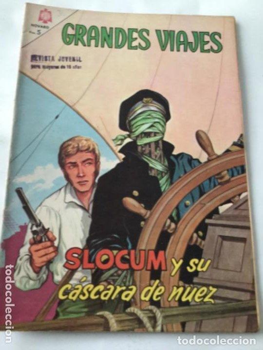 GRANDES VIAJES- SLOCUM Y SU CASCARA DE NUEZ- NUM.30- 1965 (Tebeos y Comics - Novaro - Grandes Viajes)