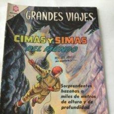 Tebeos: GRANDES VIAJES- CIMAS Y SIMAS DEL MUNDO- NUM.31- 1965. Lote 219505302