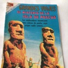 Tebeos: GRANDES VIAJES- EL MISTERIO DE LA ISLA DE PASCUA- NUM.79- 1969. Lote 219505387