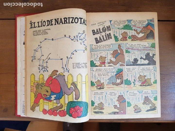Tebeos: LOTE 12 TEBEOS/CÓMIC TOMO ORIGINAL TOM Y JERRY EXTRA PORKY DUMBO DOMINGOS ALEGRES NOVARO SEA 1955 - Foto 7 - 219523931