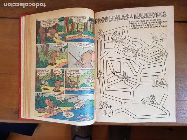 Tebeos: LOTE 12 TEBEOS/CÓMIC TOMO ORIGINAL TOM Y JERRY EXTRA PORKY DUMBO DOMINGOS ALEGRES NOVARO SEA 1955 - Foto 9 - 219523931