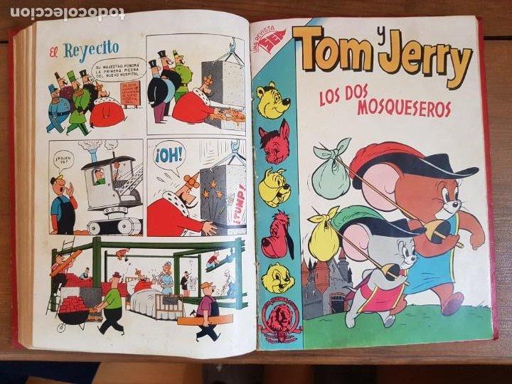 Tebeos: LOTE 12 TEBEOS/CÓMIC TOMO ORIGINAL TOM Y JERRY EXTRA PORKY DUMBO DOMINGOS ALEGRES NOVARO SEA 1955 - Foto 15 - 219523931