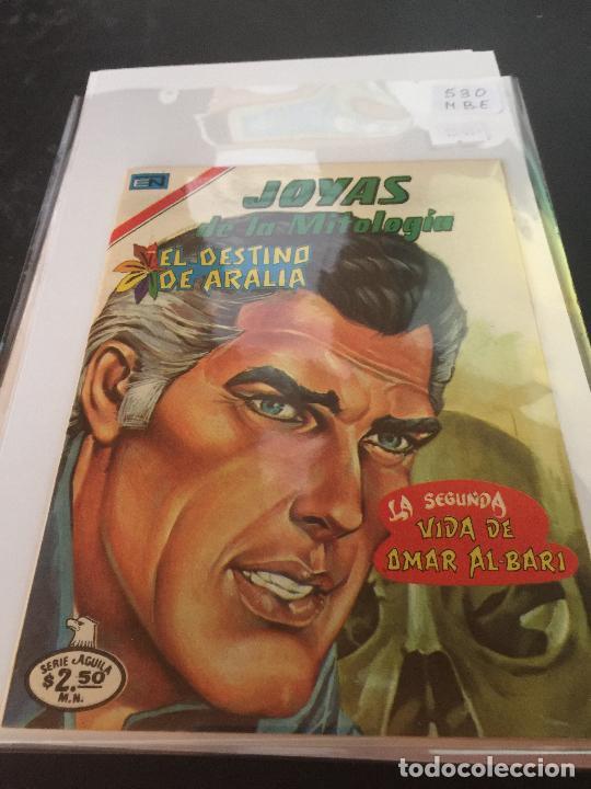NOVARO JOYAS DE LA MITOLOGIA SERIE AGUILA NUMERO 530 MUY BUEN ESTADO (Tebeos y Comics - Novaro - Otros)