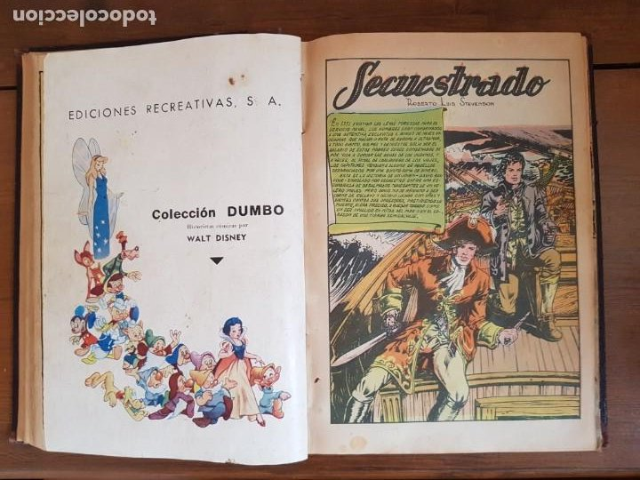 Tebeos: 12 TEBEO/CÓMIC TOMO ORIGINAL TOM Y JERRY CLÁSICOS ILUSTRADA 1 CINE ALMANAQUE NICOLÁS NOVARO SEA 1954 - Foto 10 - 219534305
