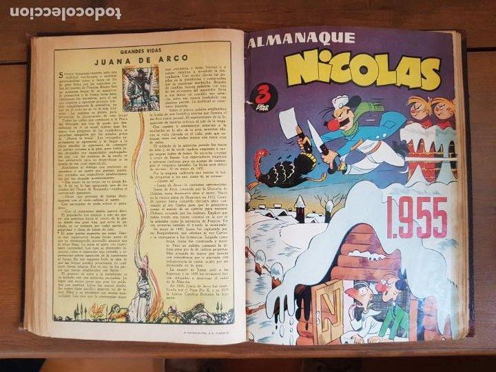 Tebeos: 12 TEBEO/CÓMIC TOMO ORIGINAL TOM Y JERRY CLÁSICOS ILUSTRADA 1 CINE ALMANAQUE NICOLÁS NOVARO SEA 1954 - Foto 11 - 219534305