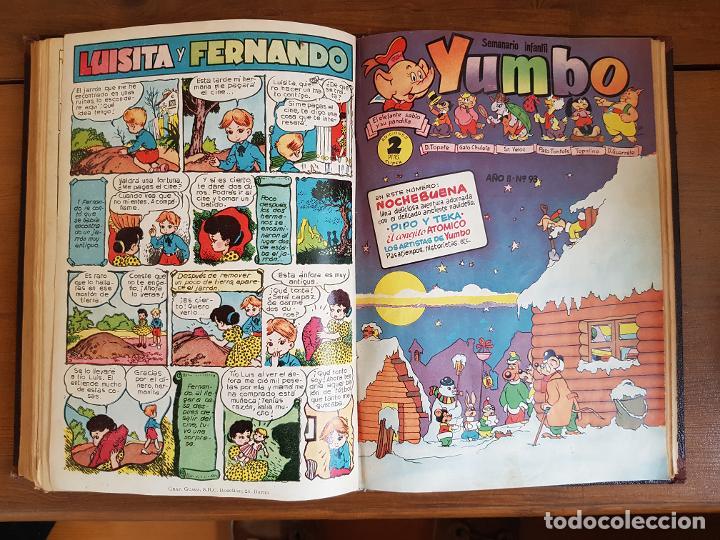 Tebeos: 12 TEBEO/CÓMIC TOMO ORIGINAL TOM Y JERRY CLÁSICOS ILUSTRADA 1 CINE ALMANAQUE NICOLÁS NOVARO SEA 1954 - Foto 18 - 219534305