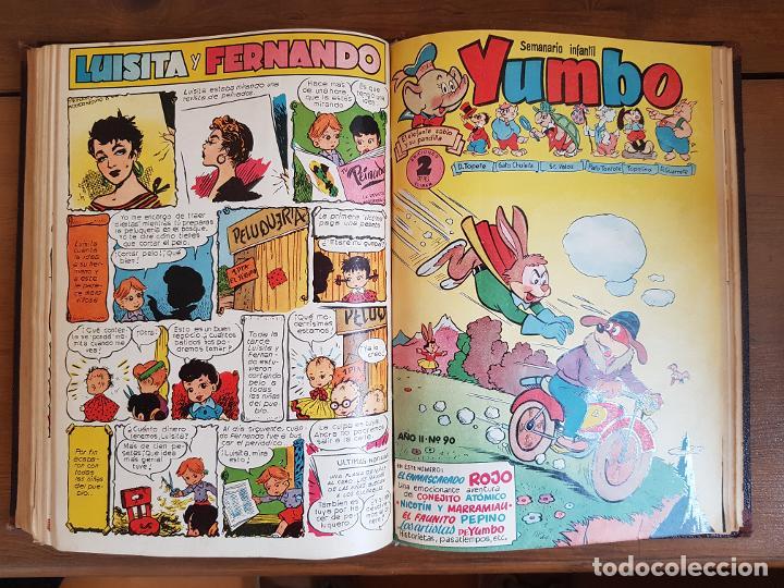 Tebeos: 12 TEBEO/CÓMIC TOMO ORIGINAL TOM Y JERRY CLÁSICOS ILUSTRADA 1 CINE ALMANAQUE NICOLÁS NOVARO SEA 1954 - Foto 20 - 219534305