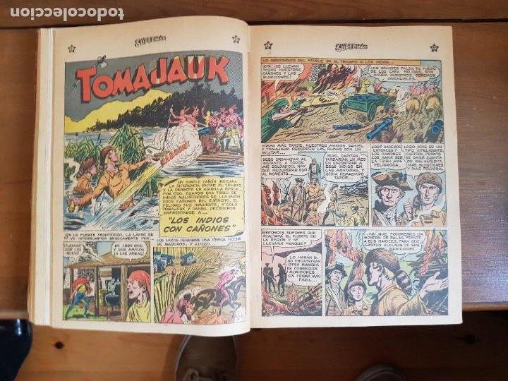 Tebeos: LOTE 20 TEBEOS/CÓMIC TOMO ORIGINAL SUPERMAN Y BATMAN TOMAJAUK NOVARO SEA (3) 1955-1959 ENCUADERNADO - Foto 14 - 219543097