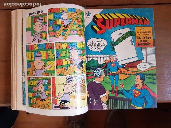 Tebeos: LOTE 20 TEBEOS/CÓMIC TOMO ORIGINAL SUPERMAN Y BATMAN TOMAJAUK NOVARO SEA (3) 1955-1959 ENCUADERNADO - Foto 17 - 219543097