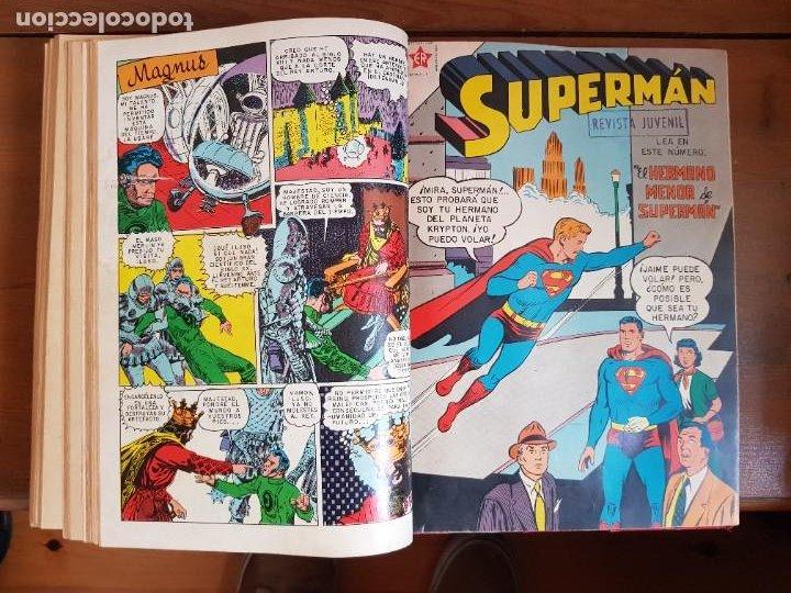 Tebeos: LOTE 20 TEBEOS/CÓMIC TOMO ORIGINAL SUPERMAN Y BATMAN TOMAJAUK NOVARO SEA (3) 1955-1959 ENCUADERNADO - Foto 19 - 219543097