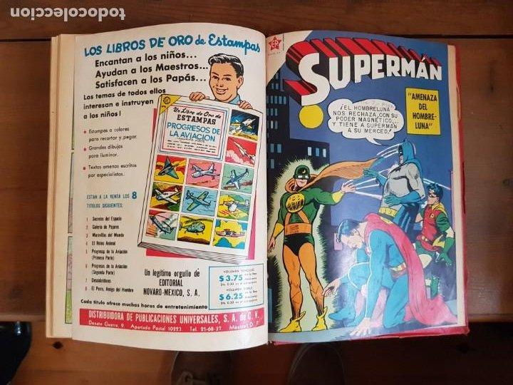 Tebeos: LOTE 20 TEBEOS/CÓMIC TOMO ORIGINAL SUPERMAN Y BATMAN TOMAJAUK NOVARO SEA (3) 1955-1959 ENCUADERNADO - Foto 23 - 219543097