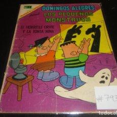 Tebeos: DOMINGOS ALEGRES 793 LOS PEQUEÑOS MONSTRUOS. Lote 219619698