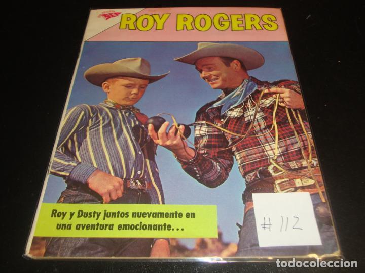 ROY ROGER 112 (Tebeos y Comics - Novaro - Roy Roger)