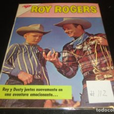 Tebeos: ROY ROGER 112. Lote 219620316
