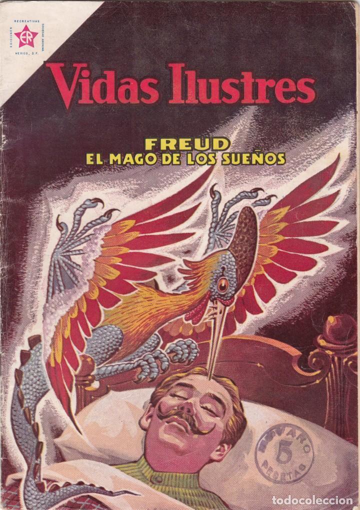 VIDAS ILUSTRES: FREUD EL MAGO DE LOS SUEÑOS / 1963 Nº 88 (Tebeos y Comics - Novaro - Vidas ilustres)