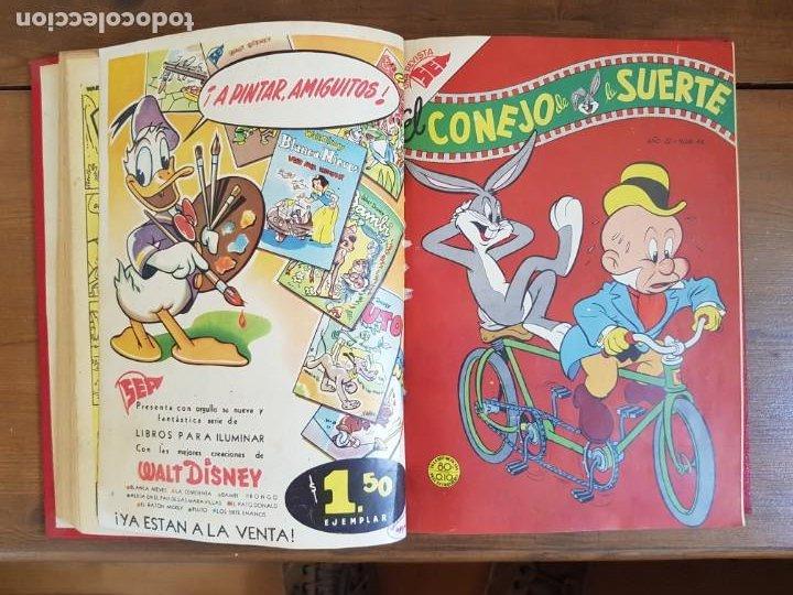 Tebeos: LOTE 10 TEBEOS/CÓMIC TOMO ORIGINAL PORKY EL PÁJARO LOCO EXTRA 1954 PRIMAVERA (5) YUMBO 1952 NOVARO - Foto 7 - 219845408
