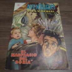 """Tebeos: AVENTURAS DE LA VIDA REAL Nº16 - EL NAUFRAGIO DEL """"DORIA"""" - MUY DIFICIL. Lote 220307862"""