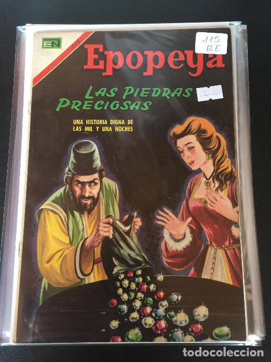 NOVARO EPOPEYA NUMERO 115 BUEN ESTADO (Tebeos y Comics - Novaro - Epopeya)