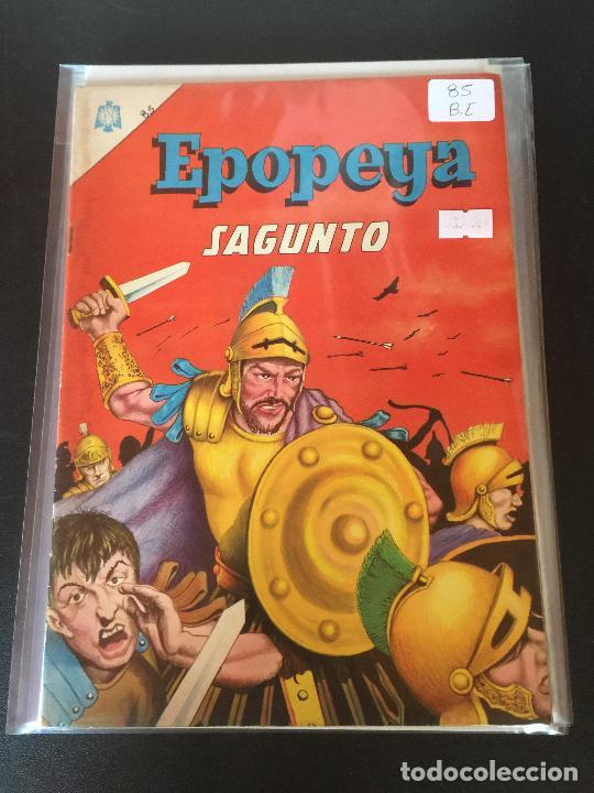 NOVARO EPOPEYA NUMERO 85 BUEN ESTADO (Tebeos y Comics - Novaro - Epopeya)