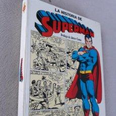 BDs: LA HISTORIA DE SUPERMAN NOVARO CAIXA D´ESTALLVIS. Lote 234157930