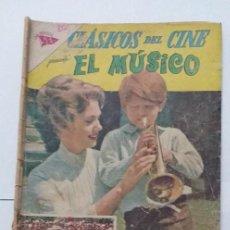 Tebeos: CLASICOS DEL CINE 99 NOVARO EL MUSICO. Lote 220745907