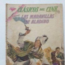 Tebeos: CLASICOS DEL CINE 93 NOVARO LAS MARAVILLAS DE ALADINO. Lote 220746223