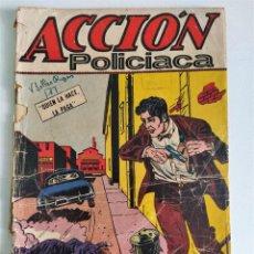 Tebeos: ACCIÓN POLICIACA Nº 85 (JACK KIRBY) ~ EXPORT NEWSPAPER SERVICE (1958). Lote 220780837