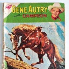 Tebeos: GENE AUTRY Nº 77 - CAMPEON EN AGUAS PELIGROSAS ~ NOVARO (1960) - BUEN ESTADO. Lote 220786011