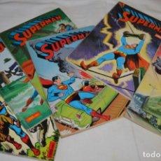 Tebeos: LOTE DE 6 EJEMPLARES SUPERMAN - NOVARO - LIBROCOMIC / LIBRO COMIC - BUEN ESTADO / AÑOS 70 - ¡MIRA!. Lote 220831930