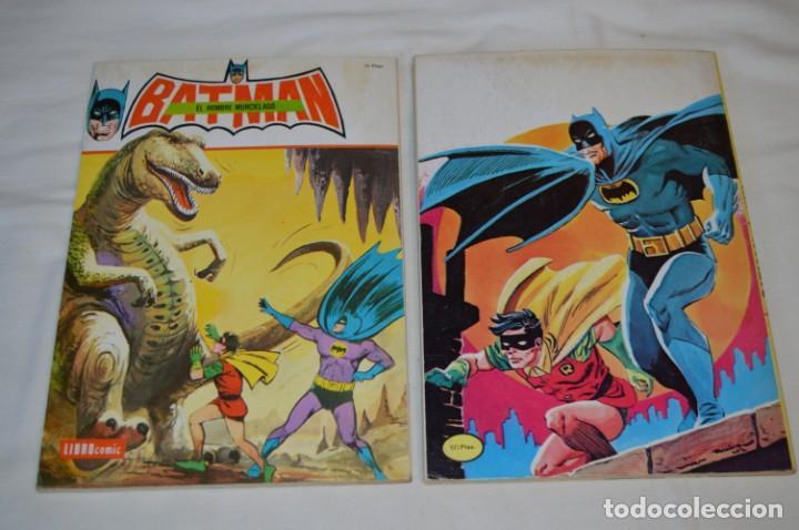 Tebeos: Lote de 2 ejemplares BATMAN - NOVARO - LIBROcomic / Libro Comic - Buen estado / AÑOS 70 - ¡Mira! - Foto 2 - 220833563
