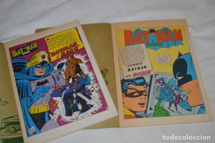 Tebeos: Lote de 2 ejemplares BATMAN - NOVARO - LIBROcomic / Libro Comic - Buen estado / AÑOS 70 - ¡Mira! - Foto 3 - 220833563